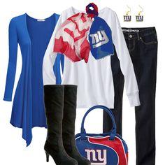 New York Giants Fall Fashion