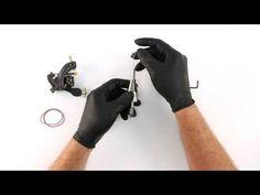Tattoo Machine Setup - Needle and Tube - YouTube                                                                                                                                                     More