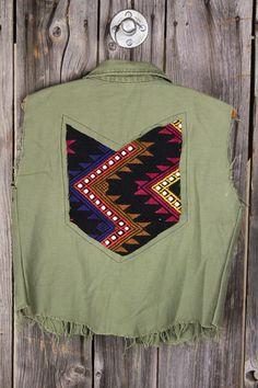 AMERICAN VINTAGE Army Vest