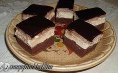 Capuccinó szelet recept fotóval