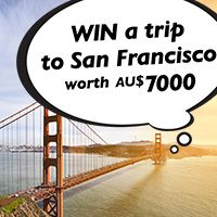 Who wants to WIN a trip to San Fran worth $7000?  #SanFran #travel #wotif #KhaledHosseini