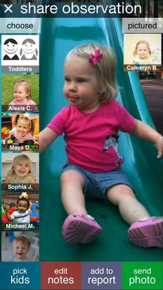 www.tadpoles.com        use for daycare needs of attendance,  lessons. etc