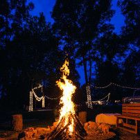 Bon Fires, Camp Fires, Smores, Outdoor Wedding | Lost Hill Lake Events