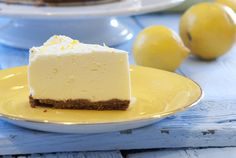 - Ostekake med Sitron -  no bake Lemon Cheese Cake