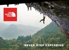 Explorer archetype The North Face advertisement