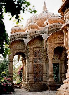 Mandore Gardens, Rajasthan, India / Pinterest: @riddhisinghal6