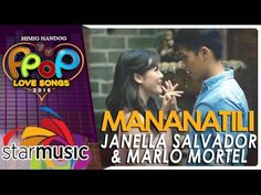 Marlo Mortel and Janella Salvador - Mananatili (Official Music Video) Music Channel, Types Of Music, Salvador Dali, Baby Daddy, Rap, Music Videos, Singing, Songs, Activities