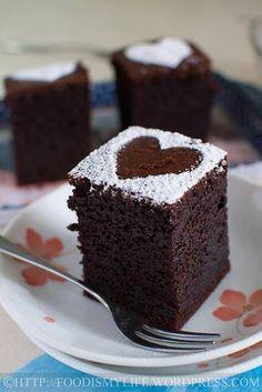 Chocolate/mini cake/love