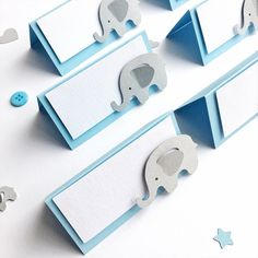 Excited to share the latest addition to my etsy shop: Elephant Place Cards Elephant Boy Baby Shower Decorations Elephant Theme Birthday Blue Grey Elephant Food Tent Labels Blank Place Cards 863283822296248159 Baby Shower Decorations For Boys, Boy Baby Shower Themes, Baby Shower Centerpieces, Baby Shower Parties, Baby Boy Shower, Elephant Party, Elephant Theme, Elephant Baby Showers, Baby Elephant