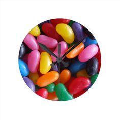 Jelly Bean Clock