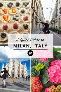 A Quick Guide to Milan, Italy  ✈✈✈ Here is your chance to win a Free International Roundtrip Ticket to Verona, Italy from anywhere in the world **GIVEAWAY** ✈✈✈ https://thedecisionmoment.com/free-roundtrip-tickets-to-europe-italy-verona/