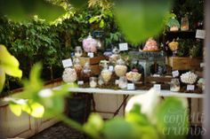 Neverland themed candy table