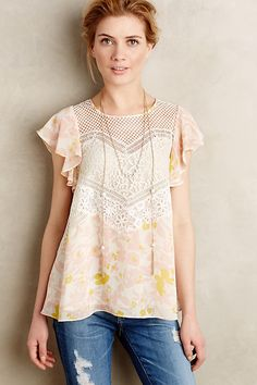 Shop the Fluttered Flores Blouse and more Anthropologie at Anthropologie today. Read customer reviews, discover product details and more.