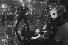 """Director Bob Fosse and Roy Schieder behind the scenes of """"All That Jazz"""". That 70s Show Memes, Taylor Thompson, Bob Fosse, All That Jazz, Great Films, Film Stills, Cabaret, Behind The Scenes, Musicals"""