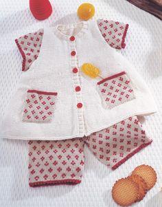 Book Baby 1 Spring / Summer | 17: Baby Jacket | Off-white / Light beige