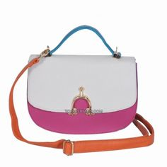 Our MISHA COLORBLOCKING LEATHER FLAP BAG can easily add some playfulness into your wardrobe. Its whimsical quality comes from the bold combination of four colors that works so well together. Gucci Bags On Sale, Studded Handbags, Discount Designer Handbags, Nike Free Runs, Saddle Bags, Color Blocking, Nike Women, Tote Bag, Purses