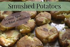 A Classic twist on Baked or Roasted potatoes, these simple to make potatoes are good enough to grace the table with company!