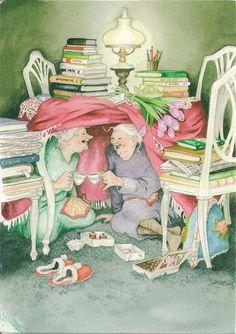 Inge Löök's Illustrations