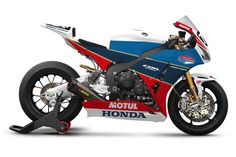 Honda Fireblade 1000, John McGuinness TT legends paint scheme for 2012 race