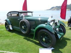 The regular Bentley 6½ Litre and the high-performance Bentley Speed Six were sports and luxury cars based on Bentley rolling chassis in production from 1926 to 1930. Description from quazoo.com. I searched for this on bing.com/images