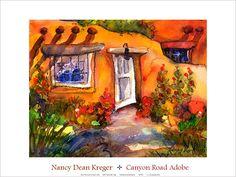 New Mexico Magazine Store - Canyon Road Adobe, $40.00 (http://shop.nmmagazine.com/canyon-road-adobe/)