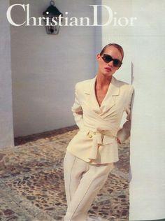 Amber Valletta for Christian Dior, 1994