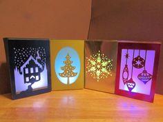 Cricut Merry & Bright Luminaries