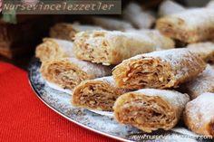 Hazır Baklavalık Yufka ile Tahinli Sarma Tahini, Turkish Tea, Tea Time Snacks, Recipe Community, Turkish Recipes, Food And Drink, Cooking Recipes, Cheese, Meat