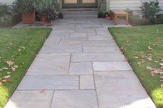 stone walk or terrace