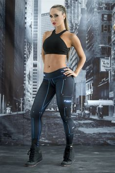 Black Widow - Super Hero Leggings - Fiber - Roni Taylor Fit  - 2 These Black Widow Super Hero Leggings from Fiber are great for working out, casual wear or even dressing up for Halloween. You will love these exclusive leggings that are made from the highest quality materials to make sure they look great, feel even better and last longer than you ever thought possible. Limited Edition and once they are sold out they will not be back again!