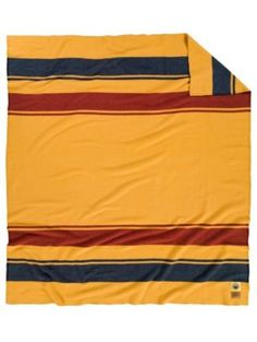 Pendleton National Park Blanket Yellowstone 90 In X 80 In Pendleton Wool Blanket, Pendleton Woolen Mills, Yellowstone National Park, National Parks, Camping World Locations, Camping Places, Camping In England, Rainier National Park, Vintage Blanket