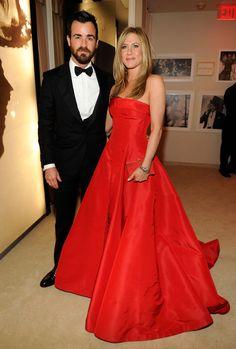 Justin & Jen = Oscars perfection.
