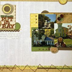 #papercraft #scrapbook #layout Life & Memories: Go To Designs: Snuggle & Separate