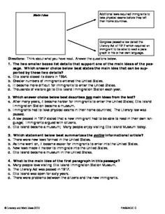 COMMON CORE (Grade 5) RI.2 TWO OR MORE MAIN IDEAS PASSAGES FOR PRACTICE. This standard asks students to determine two or more main ideas which is different from traditional main idea questions. This document contains four different passages for practice. Questions are asked in a variety of new formats and traditional formats reflecting the Common Core Standards' changes to school assessments.  Use during reading, for progress monitoring, or as Common Core homework.