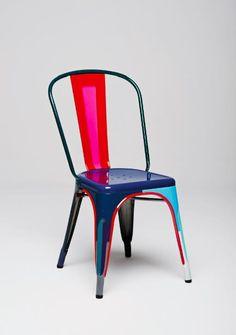 La chaise Tolix par Julie Richoz