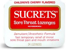 Sucrets® Sore Throat Remedies:  The Legacy of the Tin