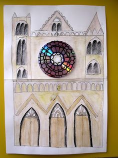 immagin@rti: Drawing a gotic catedral.