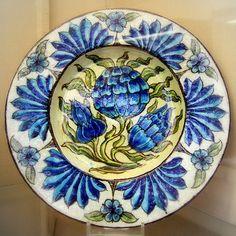 William De Morgan- plate | Flickr - Photo Sharing!