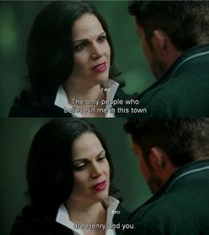 """""""The only people who believe in me in this town are Henry and you."""" Regina - 4* 9 """"The Fall.""""#ShatteredSight #OnceisFrozen"""