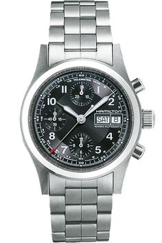 Hamilton men's watch - Khaki Field Auto Chrono