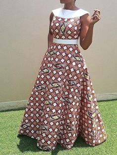 Ericdress supplies latest styles wedding dresses & party occasion dresses for women. Latest African Fashion Dresses, African Dresses For Women, Traditional African Clothing, Lace Dress Styles, African Print Clothing, Lace Dress With Sleeves, Outfits, Patterned Dress, Long African Dresses