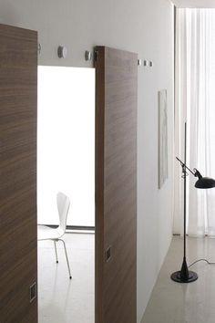 Puerta corrediza de madera B-MOVE MULTY - BLUINTERNI
