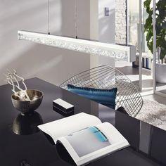 Eglo Cardito 40w LED Crystal Pendant Lamp - Kitchen Lighting from Dusk Lighting UK