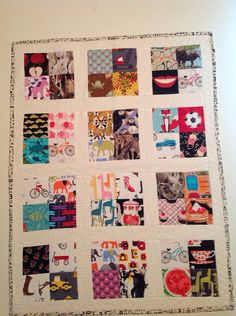 Childrens TV Quilt I Spy quilt play quilt lap quilt by Studio985