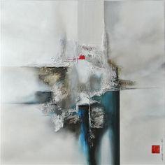 Martin Beaupre artist painter || Du bleu pour apaiser l esprit