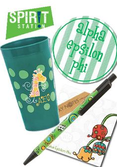 Alpha Epsilon Phi Gift Set Under $10*