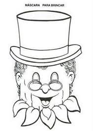 Resultado de imagem para mascara Visconde de Sabugosa Printable Masks, Printables, Recycled Toys, Puppets For Kids, Crafts For Kids, Bullying, Paper Collages, Bonding Activities, Mascaras