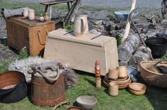 """Viking encampment goodies."" Unsourced, via Kymm Wanat."