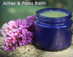 ❤ How To Make A Herbal Aches and Pains Balm ❤