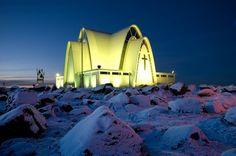 Iglesia Kopavogur  ( Islandia )